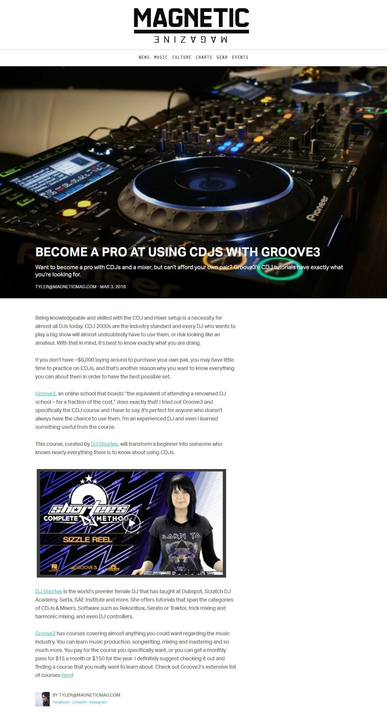 Magnetic Reviews Shortee's CDJ Course ⋆ DJ Shortee - Skill
